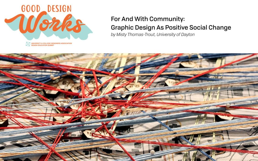 UCDA Series: For And With Community – Graphic Design As Positive Social Change